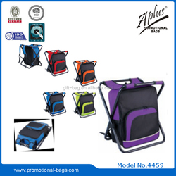 600D polyester cooler bag with chair