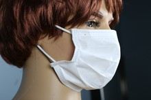 disposable paper medical face mask
