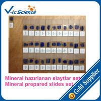Mineral thin prepared slides set,Mineral thin slides,Mineral slides