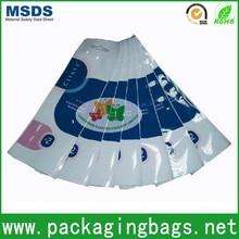 flexible packaging printed resealable plastic bags adhesive design