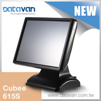 2015 NEW 15 inch fanless all-in-one touchscreen POS system