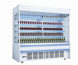 Multideck Open Chiller open face cooler upright chiller wall case