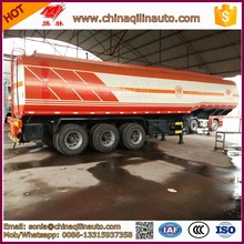 3 axle crude oil bitumen asphalt tank trailer