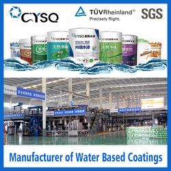 Water Based paint and coating industry wall paint