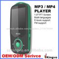 Mini jugadores mp3 reproductor de radio fm, multi- idiomas reproductor mp3