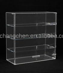 factory of custom made acrylic storage cases / model display cases / transparent plastic boxes