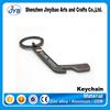 popular design metal hockey stick key rings ice hockey stick shape bottle opener