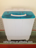 8kg small compact semi automatic clothes washing machine