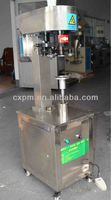 Guangzhou Semi-automatic tin cans caps sealing machine cheap price hot sales