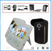 """2.4G 3.5"""" Camera Night Vision PIR Intercom Door Phone 1V3 Wireless Video Doorbell"""