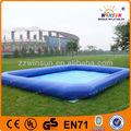 encerado do pvc venda quente grande piscina inflável para o adulto