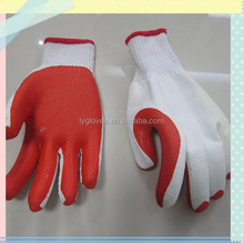 Rubber Coated Cotton Gloves,Working Safety Gloves