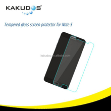 New product 0.33mm 2.5D 9H Tempered Glass Screen Protector for Samsung Galaxy Note 5