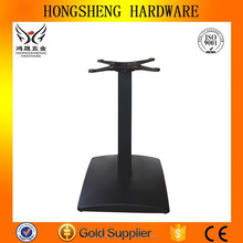 HS-A039 square tube table leg table base wrought iron modern dinning table