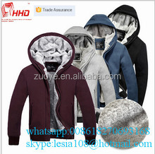 2015 Hot Style New Stylish Outer Wear New Design mens french terry hoodie