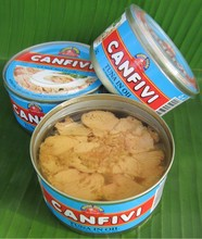 Canned Light Meat Bonito Chunk in Vegetable Oil