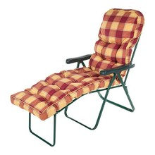 2015 new red plaid plaid lounger chair cushion,leaf soft outdoor and indoor exquiteness sun lounger,art elegant cushion