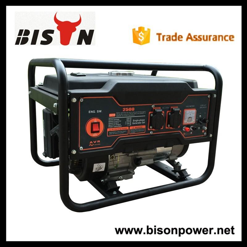 들소( 중국) 잘 알려진 브랜드 가솔린 발전기 세트 2,000w 출력, 가이드 발전기