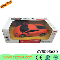 2015 1:24 4 channel RC plastic car no battery included for kids and adults with EN71,7P