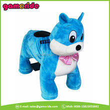 AT0629 funfair children Plush and steel frame Material adult ride on horse toy may little horse