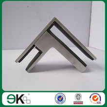 90 degree Stainless Steel Glass to Glass Clamp Connector