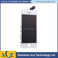 alibaba wholesale for iPhone 5 5G LCD Screen Display with Digitizer Touch Panel White