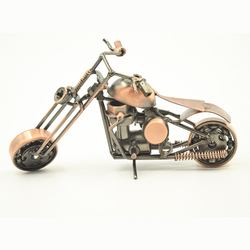 Creative Products Latest Motorcycle Model, Metal Motorcycle Model Iron Craft For Pub Decor