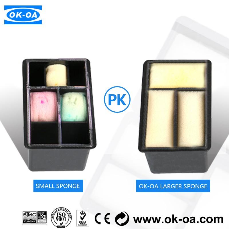 rechargeable cartouche d 39 encre puce de r initialisation automatique pour hp 301 ch563e ch564e. Black Bedroom Furniture Sets. Home Design Ideas