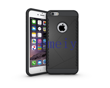 Luxury Back Cover Slim Armor Hard Case 2 to 1 TPU + PC Mobile Phone Case Shockproof Cover For Apple iPhone 6 6 Plus