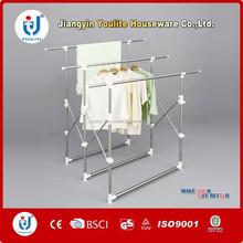 houseware indoor stainless steel retractable clothes hanger