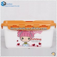 New Design Plastic Portable Storage Box With Lock