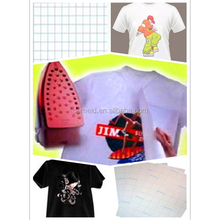 T-shirt transfer paper for cure cotton Light T-shirt,A4 t-shirt transfer paper