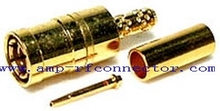 Plug Crimp Gold SMB connector