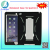 High quality kickstand silicone 9.7 inch tablet pc case for iPad air 2
