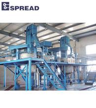Industrial paint production line