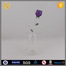 High quality crystal glass rose for wedding souvenir Valentine's Day gift