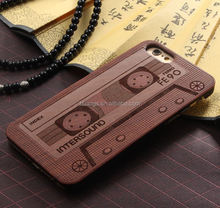 Buy direct from china OEM Service Laser Engraving Mobile Phone Wood PC for iphone 6 cell phone case wood china price