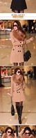 Женская одежда из шерсти Slim 0-