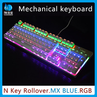2015 coolest! Switch RGB gaming computer keyboard mechanical