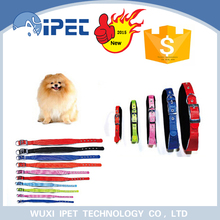 2015 new wide and narrow dog collars with soft padding
