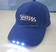 High quality led cordless mining cap lamp,baseball cap with built-in led light