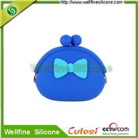Kawaii Fashion silicone purse gift children's wallets mini coin bag