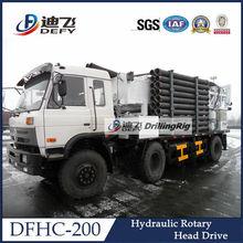 200m truck mounted underground water well drilling machine