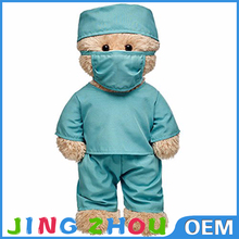 OEM/ODM promotional plush nurse bear toy doctor teddy bear