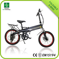 Factory direct sales 20 inch folding electric bike