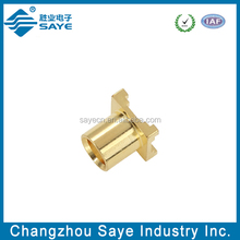straight surface mount mcx jacks connector