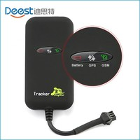 vehicle motorcycle gps car tracker with power oil cut-off sos alarm function GT02