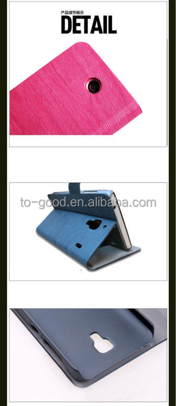 2015 Hot Fashion Promotional Diamond Stand PU Leather Cute PU Leather Cell Phone Case For Lenovo S850 Pouch Shell(Blue)