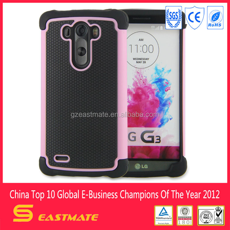 Newest arrival shockproof cases for lg g3 g3 cover