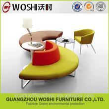 複数の色オプションのリビングルームのソファ小さいサイズのコーナーソファセット